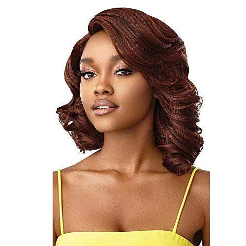 Outre The Daily Synthetic Lace Part Wig - DELANIA (1B Off Black)