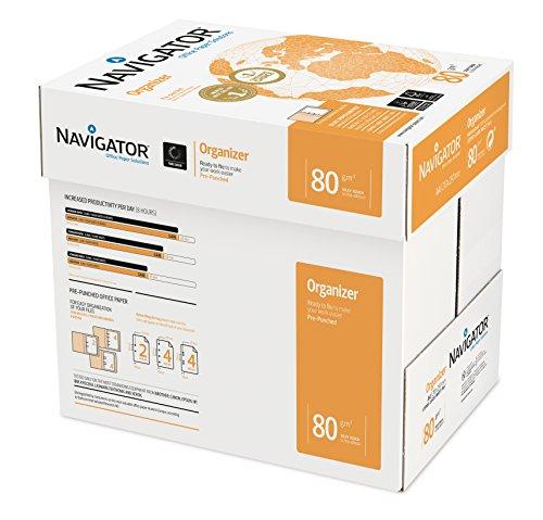 Navigator Organizer 4 Löcher, A4, 80 g, 5 Stück