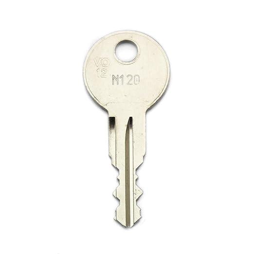 Thule Ersatzschlüssel N Schließung N001 Bis N200 Nachschlüssel Zusatzschlüssel Für Thule Dachboxen Nachträglicher Schlüssel Für Thule Dachboxen Gewerbe Industrie Wissenschaft