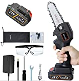 Anzid Mini Chainsaw Set Hand-held Pruning Saw with...