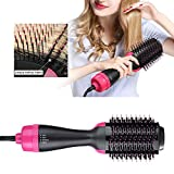 Hot Air Brush One Step Hair Dryer & Volumizer, Zhengpin 3-IN-1 Negative Ions Hair Dryer, Curler and Straightener for All Hair Types - Quickly Drying and Won't Hurting Your Hair
