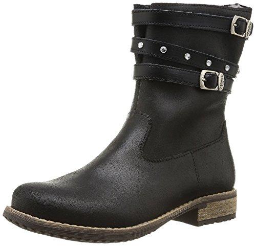 Minibel Haboucle, Boots fille - Noir (67), 26 EU (8.5 UK) (9.5 US)
