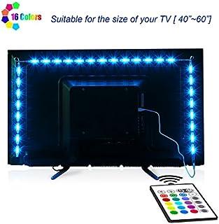 LED Strip Lights, Maylit 2M/6.56ft RGB LED Light Strip...