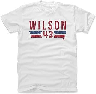 Tom Wilson Shirt - Washington Hockey Men's Apparel - Tom Wilson Font