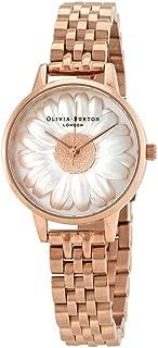 Olivia Burton 3D Daisy White Dial Ladies Watch OB16FS102