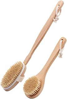 Cozy Bath Brush Two Bath Brushes with Long Handles, Bristle Fur, Rubbing Back Brush, Bath Towel, Bathing Brush, Artifact Back Good Material