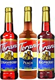 Best Syrups - Torani Syrup Fruit Flavors 3 Pack, Raspberry, Strawberry Review