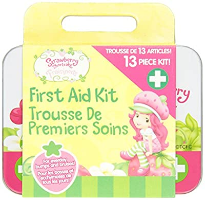 Health Science Labs Strawberry Shortcake 13 Piece First Aid Kit from Cosrich Group/Health Science Labs