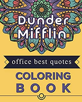 Dunder Mifflin Office best quotes Coloring book  Best present for the office tv series show fans and lovers