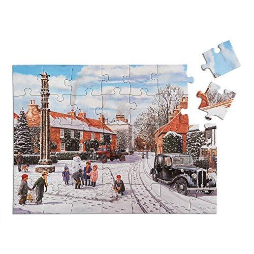 Relish 'Winter Snow' Puzle de 35 Piezas diseñado para Personas ancianas con...