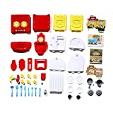IBISHITAOXUNBAIHUOD Simulación Plastic Toy Kitchen Little Tikes Cooking Store Kitchen Playset y Heart of The Home Kitchen Set