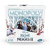Monopoly La Reine des Neiges - Jeu de societe - Jeu de plateau - Version française