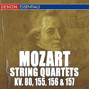 Mozart: Quartets 1 - 4 K. 80, 155, 156 & 157