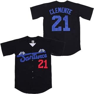 Kooy Roberto Clemente #21 Santurce Crabbers Puerto Rico Baseball Jersey Men