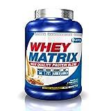 Quamtrax Nutrition Whey Matrix, Sabor Leche Merengada - 2270 gr
