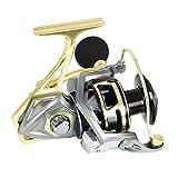 ANGLER DREAM Bumblebee Fishing Reels 2500 Series Sea Fishing Reel 10BB 5.2:1 Ratio Saltwater Fishing Reels
