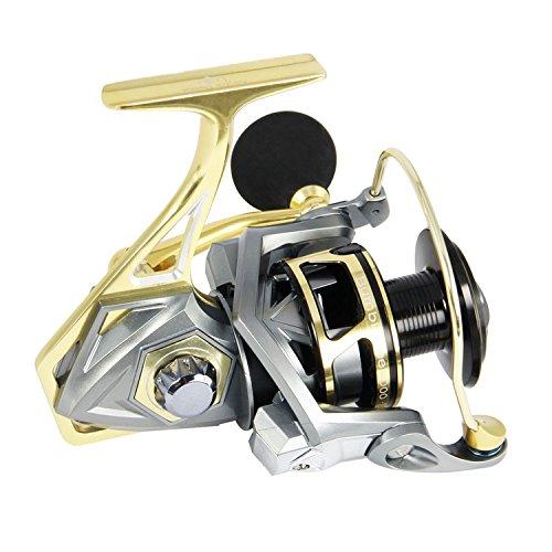 ANGLER DREAM AnglerDream Bumblebee 3000 Fishing Spinning Reels CNC Fishing Reels Bass Fish Reel