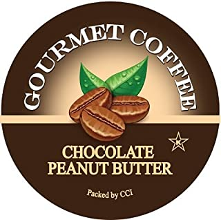 Smart Sips, Chocolate Peanut Butter Gourmet Coffee, 24 Count, For Keurig K-Cup Brewers