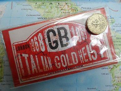 Italiaans goud Heist Sticker (Pak van 2)