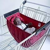 Babiage Carrito de la compra Hamaca para bebé (rojo
