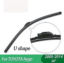 WQSNUB Wiper Blades,for Toyota Aygo,car Wiper,Boneless, Windscreen Windshield Wipers, Car accessory2005-2014