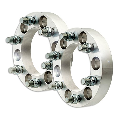 "DPAccessories WA2828H32108/2 2 Billet Wheel Spacer Adapters - 6x139.7/6x5.5-1.25"" Width - M14x1.5-108mm Wheel Spacer Kit"