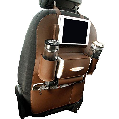 Organisateur de si/ège arri/ère pour Enfants Protections dorsales pour si/ège dauto avec Support pour Sac de Rangement /à 9 Poches pour iPad//Tablette//Bouteille//Tissu//bo/îte//Jouets//v/éhicules