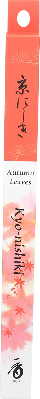 SHOYEIDO Kyoto Autumn Leaves Incense, 35 Sticks - Kyo-nishiki