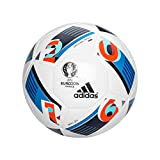 adidas Herren Ball EURO 2016 Mini, White/Bright Blue/Night Indigo, 1