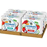 V8 +Hydrate Plant-Based Hydrating Beverage, Variety Pack, 8 oz. Can, 6 Count (Pack of 4)