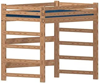 Bunk Beds Unlimited Loft Bed DIY Woodworking Plan to Build Your Own Full-Size Extra-Tall Loft and Hardware Kit (Wood NOT Included)