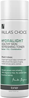 Paula's Choice HYDRALIGHT Healthy Skin Refreshing Toner with Green Tea & Hyaluronic Acid for Oily & Sensitive Skin, 6.4 Ounce