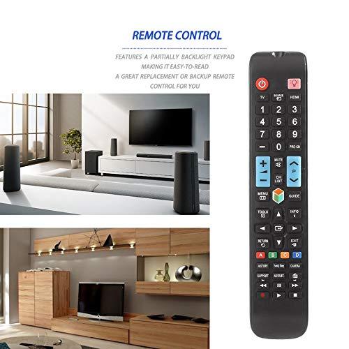 BrookfendiFR - Mando a Distancia Universal 3D para Samsung Smart TV AA59-00638A (con retroiluminación), Color Negro: Amazon.es: Hogar