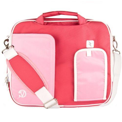 "VanGoddy Pindar Rose Pink Messenger Bag for iBall CompBook/iBall Slide 10""-12inch"