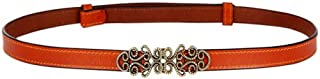 Retro Waist Belts For Women Thin Belt Decorative Dress Leather Fashion