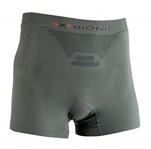 X-Bionic–Biancheria intima Hunting Light UW Boxer, Uomo, X-BIONIC HUNTING LIGHT MAN UW BOXER, Sage Green/Anthracite, S/M