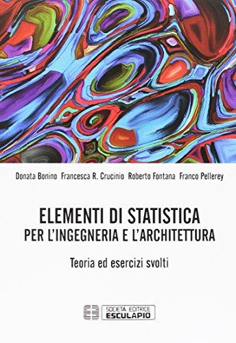 Elementi di statistica per l'ingegneria e l'architettura. Teoria ed Esercizi Svolti. TextinCloud