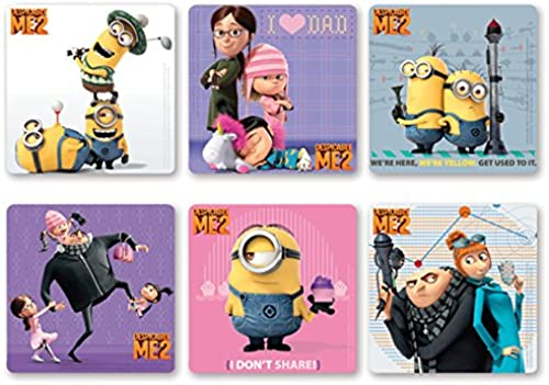 Despicable Me 2 Stickers (100 count) Exclusive