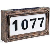 TIJNN Solar House Number