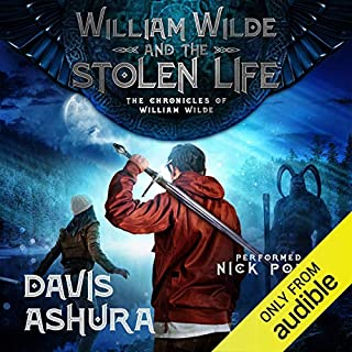 William Wilde and the Stolen Life audiobook cover art