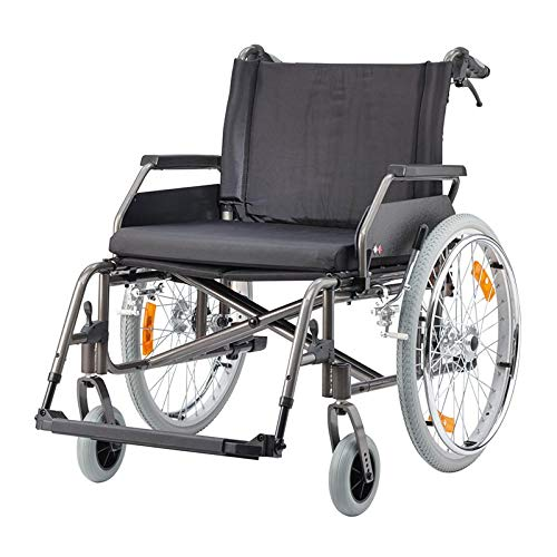 Rollstuhl ECON XXL Sitzbreite 70 cm anthrazit