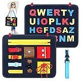 Giocattoli sensoriali Montessori per bambini -Imparare a vestire e sillabare giocattoli pe...