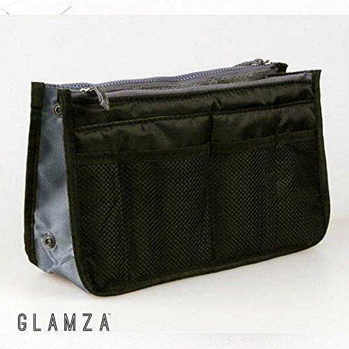 Glamza, borsa da viaggio multi tasca, nera, 1 unità