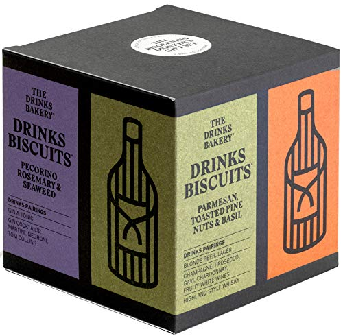The Drinks Bakery Discerning Drinker's Gift Set | Gift Set Expertly Paired to Great Drinks | Award...