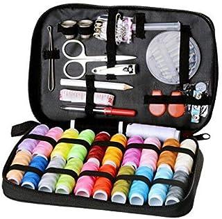 مجموعة الخياطة الصغيرة مكونة من 98 قطعة من أدوات الخياطة للمبتدئين، بالإضافة إلى احتياجات الخياطة في حالات الطوارئ