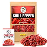 Yimi Whole Dried Chilies, Chinese Dried Red Chili Peppers For Hot Chili Oil and Hotpot, Or...