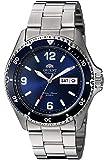 Orient Unisex Erwachsene Analog Automatik Uhr mit Edelstahl Armband FAA02002D9