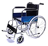 SMARTCARE Lightweight Durable Portable Wheelchair with Commode (U-CUT COMMODE)