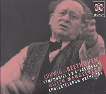 "Audio CD Beethoven: Symphonies 5 & 6 ""Pastoral"" / Mengelberg, Concertgebouw Orchestra Book"