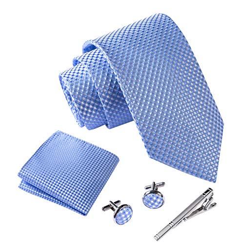 Massi Morino ® Cravatta uomo + Gemelli + Fazzoletto...